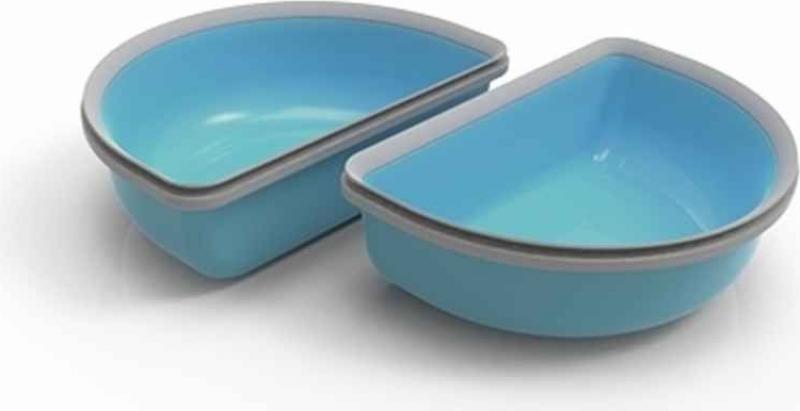 Set mit 2 Halbschalen für Connect Futterspender