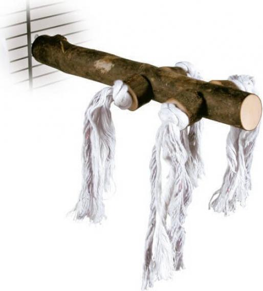Perchoir pour oiseaux Natural Living avec corde