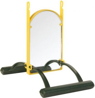 Miroir avec balançoire