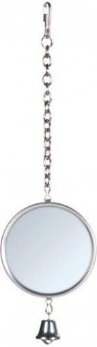spiegel mit metallrahmen vogelzubeh r. Black Bedroom Furniture Sets. Home Design Ideas