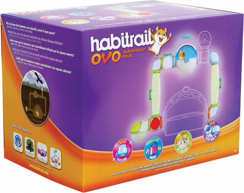 Habitrail Ovo Adventure Pack lot de tubes pour cage Ovo