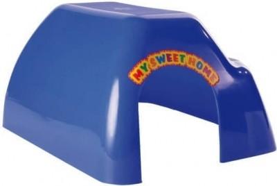 Maisonnette rongeurs colorée en plastique