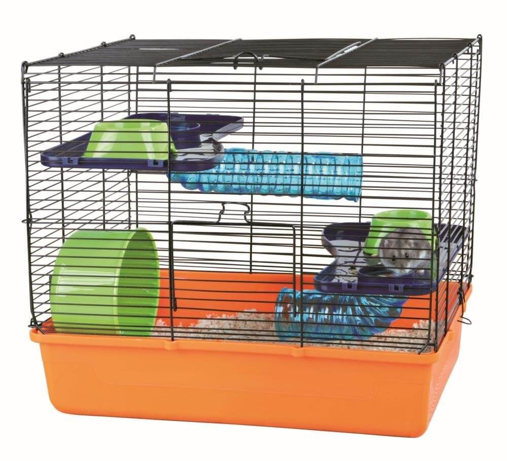 cage avec quipement de base pour hamster et souris cage hamster. Black Bedroom Furniture Sets. Home Design Ideas