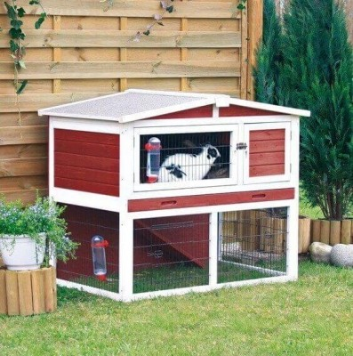 Exterior Hutch with Run