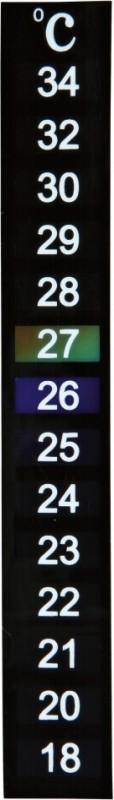 Thermomètre digital auto-adhésif