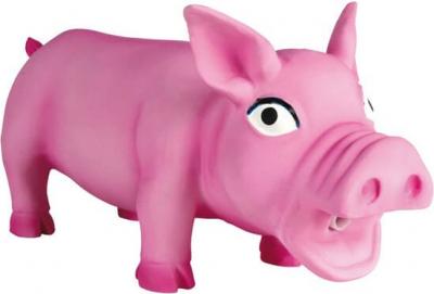 Cochon latex avec son original
