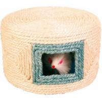 Tambour de jeu en sisal avec souris