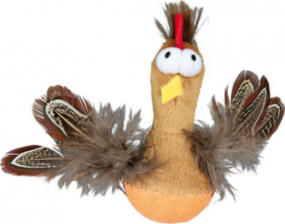 Bobo Chicken with Feathers and Sound, Plush