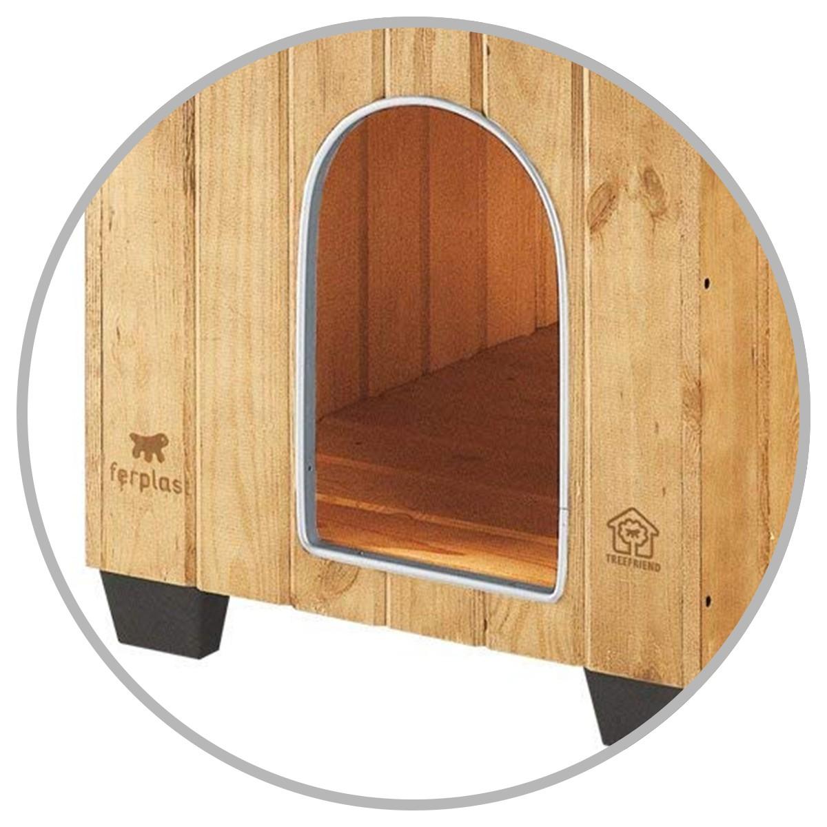 Contours anti morsures pour la niche robuste domus