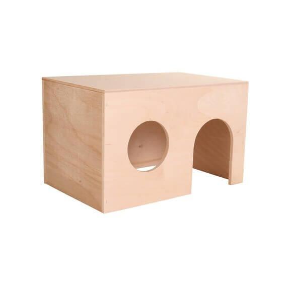maisonnette pour cochons d 39 inde en bois deux tailles. Black Bedroom Furniture Sets. Home Design Ideas