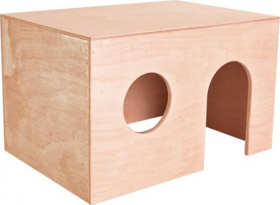 Casetta per porcellini d'India in legno