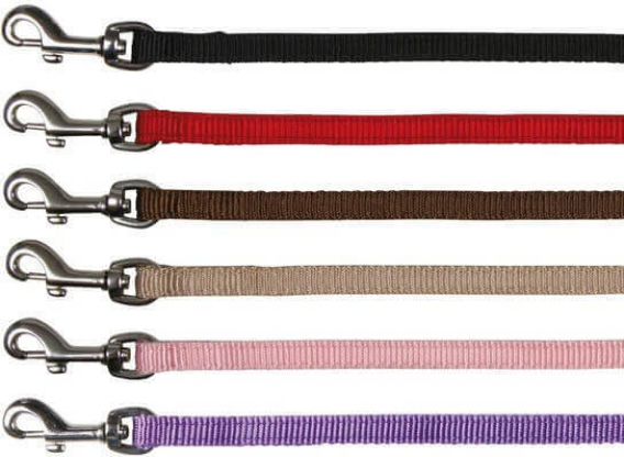 Premium Laisse en nylon, plusieurs coloris
