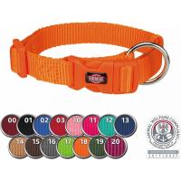Premium Collier pour chien en nylon avec décharge de traction - Plusieurs coloris et tailles disponibles