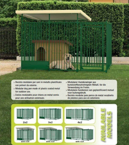 chenils pour chiens parcs et cages en m tal pour chien. Black Bedroom Furniture Sets. Home Design Ideas