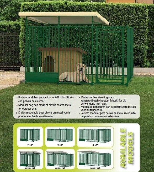 chenil modulable dog pen chenil pour chien. Black Bedroom Furniture Sets. Home Design Ideas
