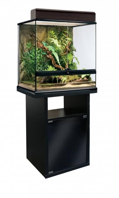 Meuble pour terrarium 60 terrarium et meuble for Meuble avec cachette