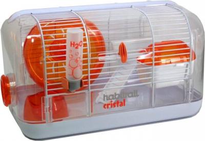Cage de démarrage Habitrail Cristal