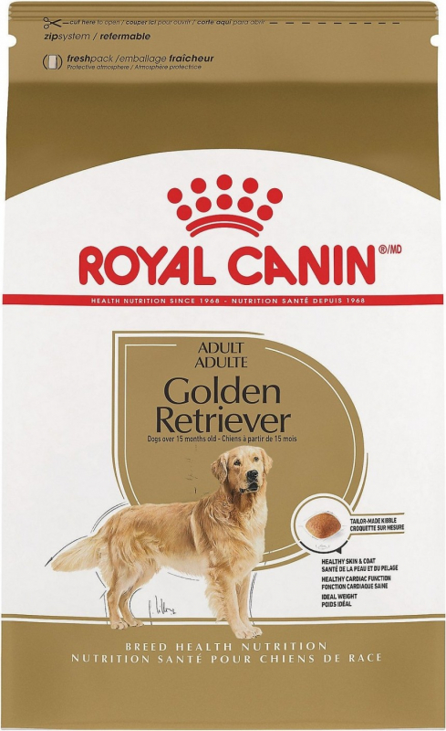 Royal Canin Breed Golden Retriever 25 Adult
