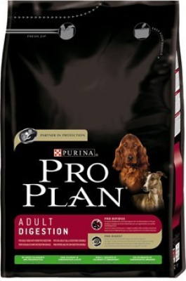 PRO PLAN DOG ADULT DIGESTION RICO EN CORDERO