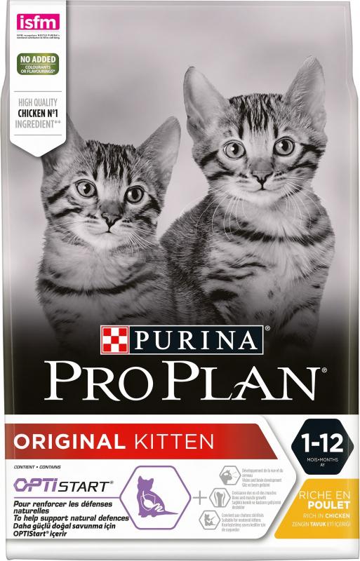 PRO PLAN Original Kitten Optistart au Poulet pour chaton