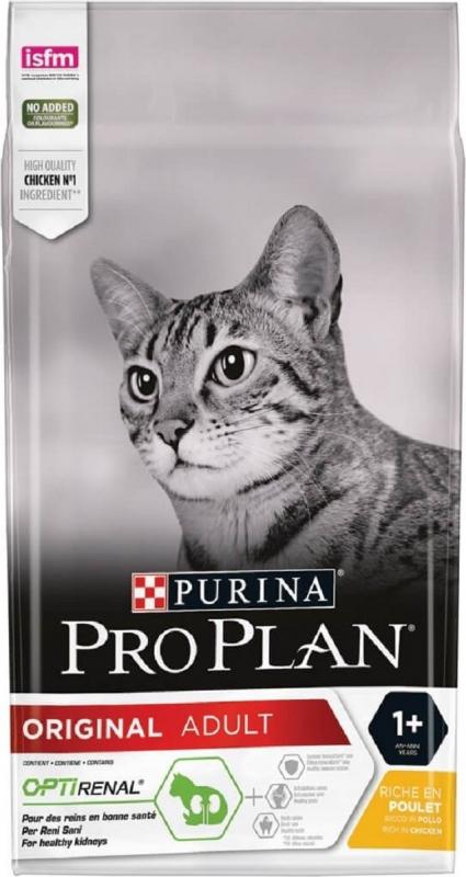 PRO PLAN CAT ADULTE OPTIRENAL RICO EN POLLO Y ARROZ