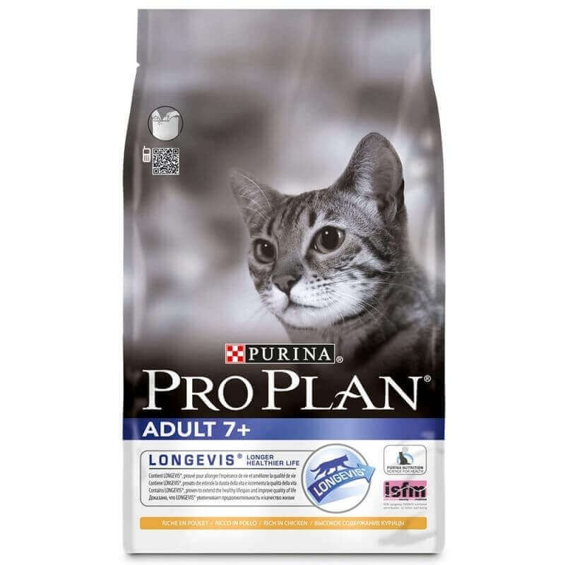 PRO PLAN Adult 7+ Riche en poulet pour chat senior_0