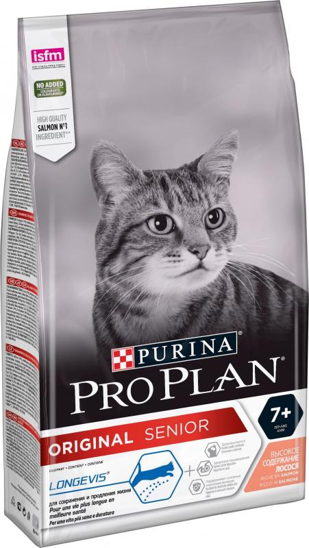 Pro Plan Original Senior Longevis au saumon