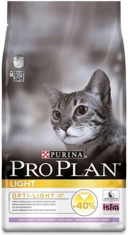 PROPLAN CAT LIGHT RICO EN PAVO Y ARROZ