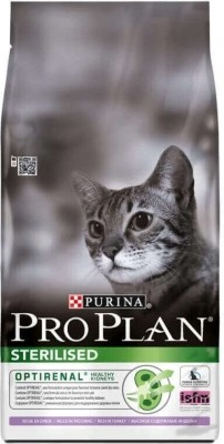 PRO PLAN CAT STERILISED mit Pute