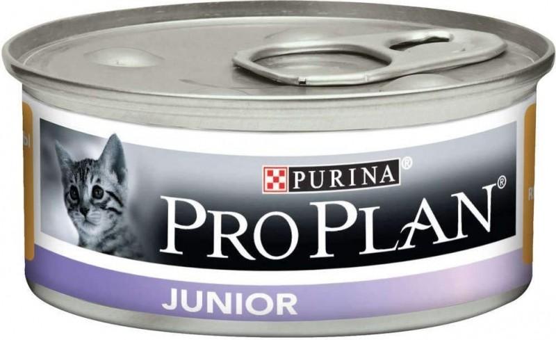 PRO PLAN Junior Pâtée au poulet pour chaton - Boite de 85g