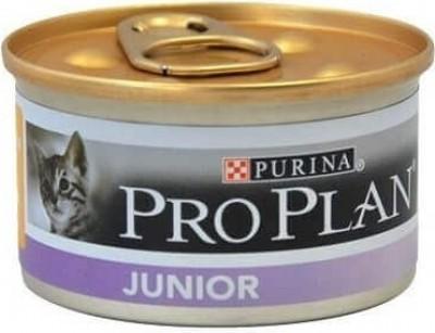PRO PLAN Junior de pollo para gatito- Lata de 85g