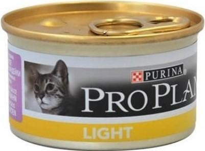 PRO PLAN Light Pâtée à la dinde en boite pour chat