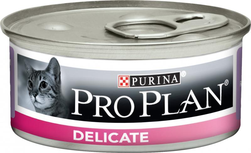 PRO PLAN Delicate Pâtée à la dinde en boîte pour chat