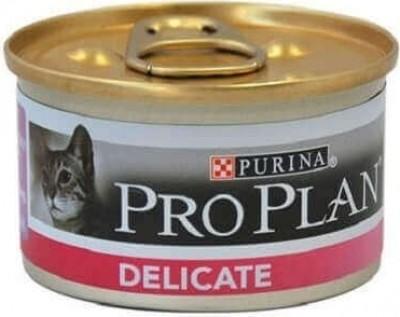 PRO PLAN Delicate Pâtée à la dinde en boite pour chat