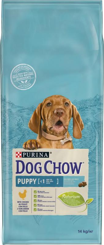 DOG CHOW Chien Puppy au poulet