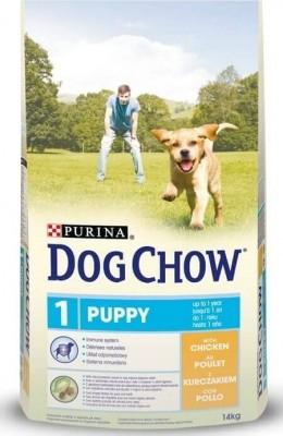 DOG CHOW für Welpen mit Hühnchen