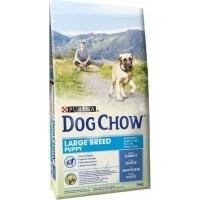 DOG CHOW für Welpen großer Rassen mit Pute