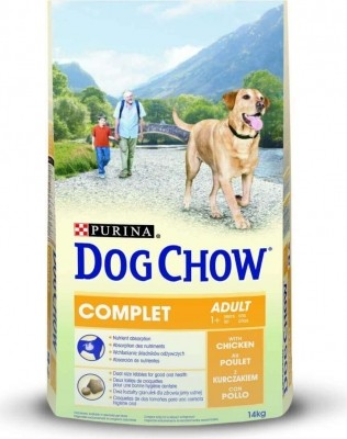 DOG CHOW COMPLET mit Hühnchen