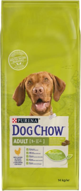 DOG CHOW pour chien adulte poulet et riz