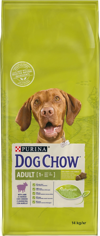 DOG CHOW Chien Adult agneau