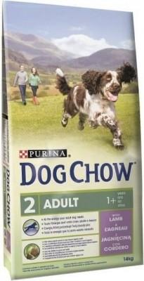 DOG CHOW pour chien Adulte Agneau et Riz