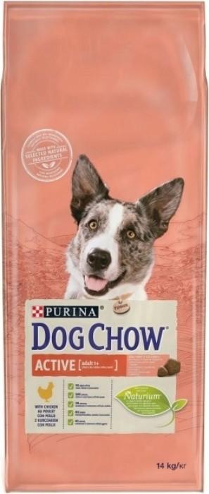 DOG CHOW pour chien actif au poulet