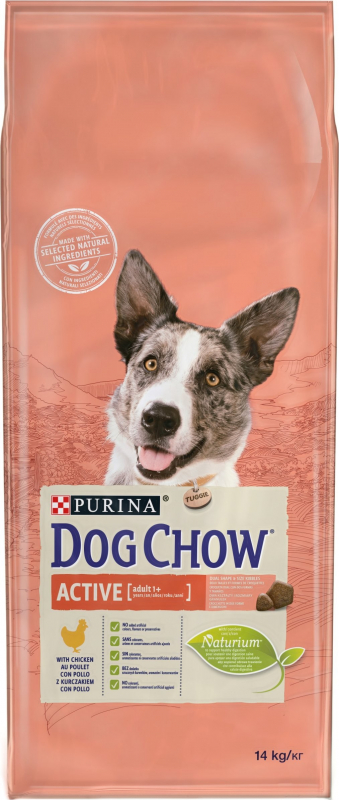 DOG CHOW Chien Active au Poulet