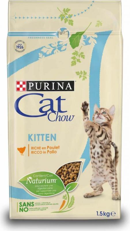CAT CHOW Kitten per gattino al pollo