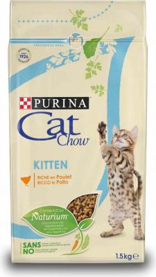 CAT CHOW Kitten au poulet
