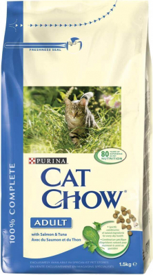CAT CHOW ADULT riche en saumon