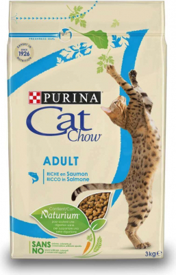 CAT CHOW ADULT pour chat riche en saumon