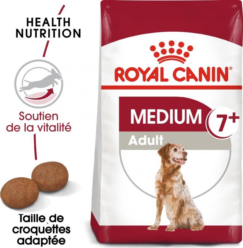 Royal Canin Médium Adult 7 ans et plus