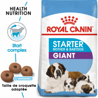 Royal Canin Giant Starter Mother & Babydog - Chiot et chienne en gestation / lactation (jusqu'à 2 mois)