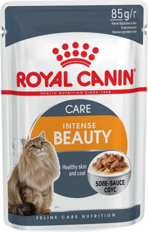 Royal Canin Intense Beauty Pâtée en sauce pour chat adulte